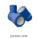 MUD PUMP, LINER, 7-IN, GD, PZ-10/11 (CERAMIC LINERS)